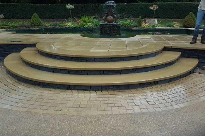 Bespoke steps & stonemasonary